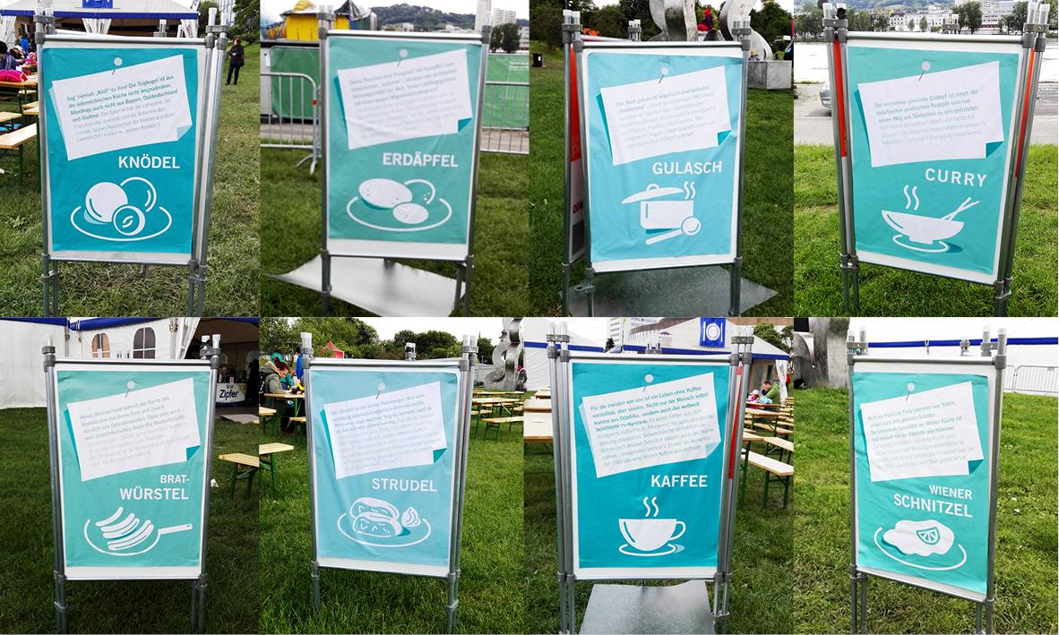 8_Linzfest Speisenplakate Melanie Pichler